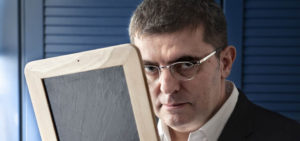 Mario Tascón, director de gráficos e Internet de EL MUNDO (1989-2000)