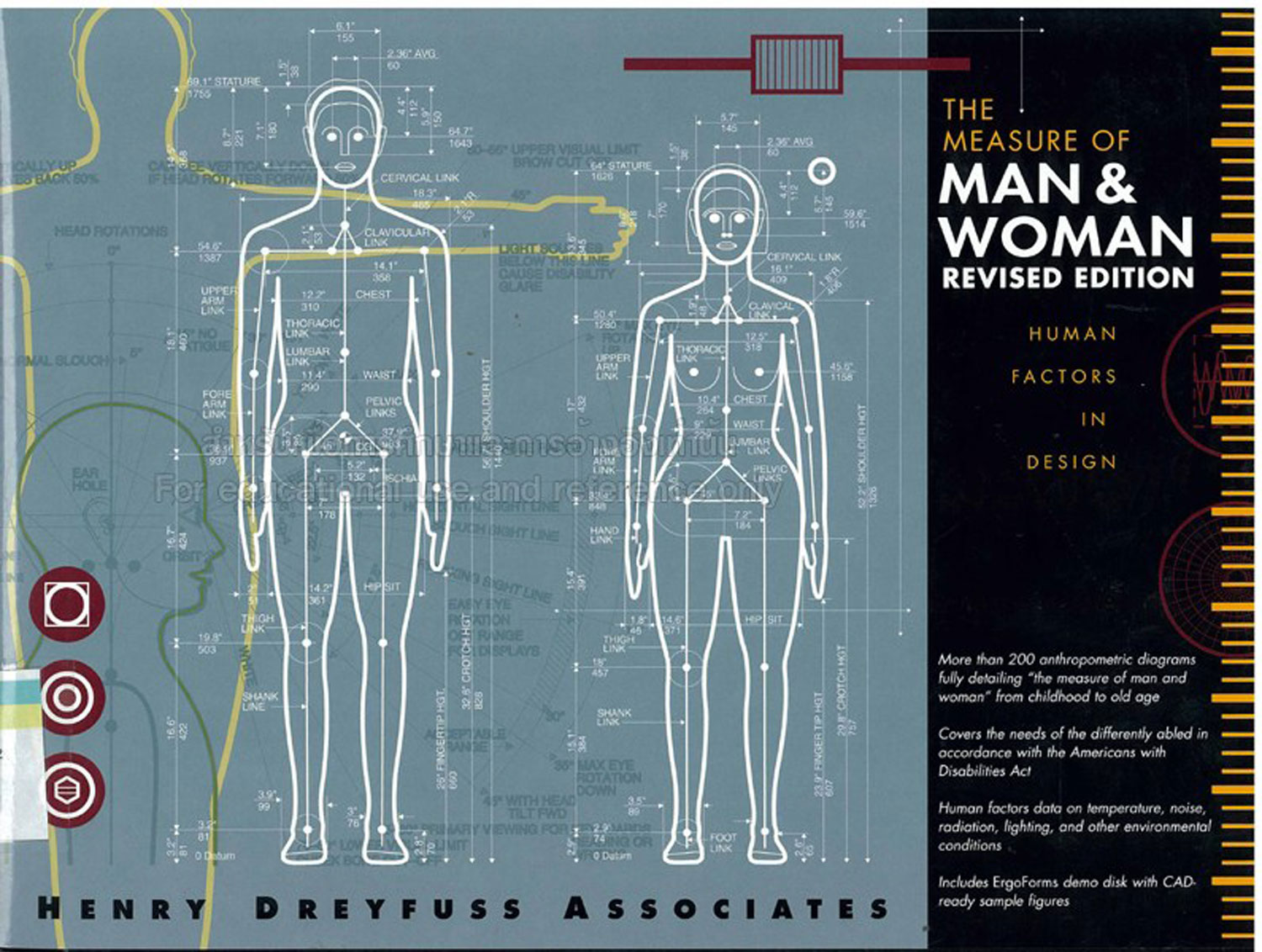 The Measure of Man and Woman: Human Factors in Design, Henry Dreyfuss Associated