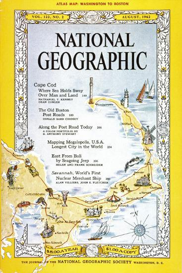 Agosto de 1962: National Geographic Magazine.