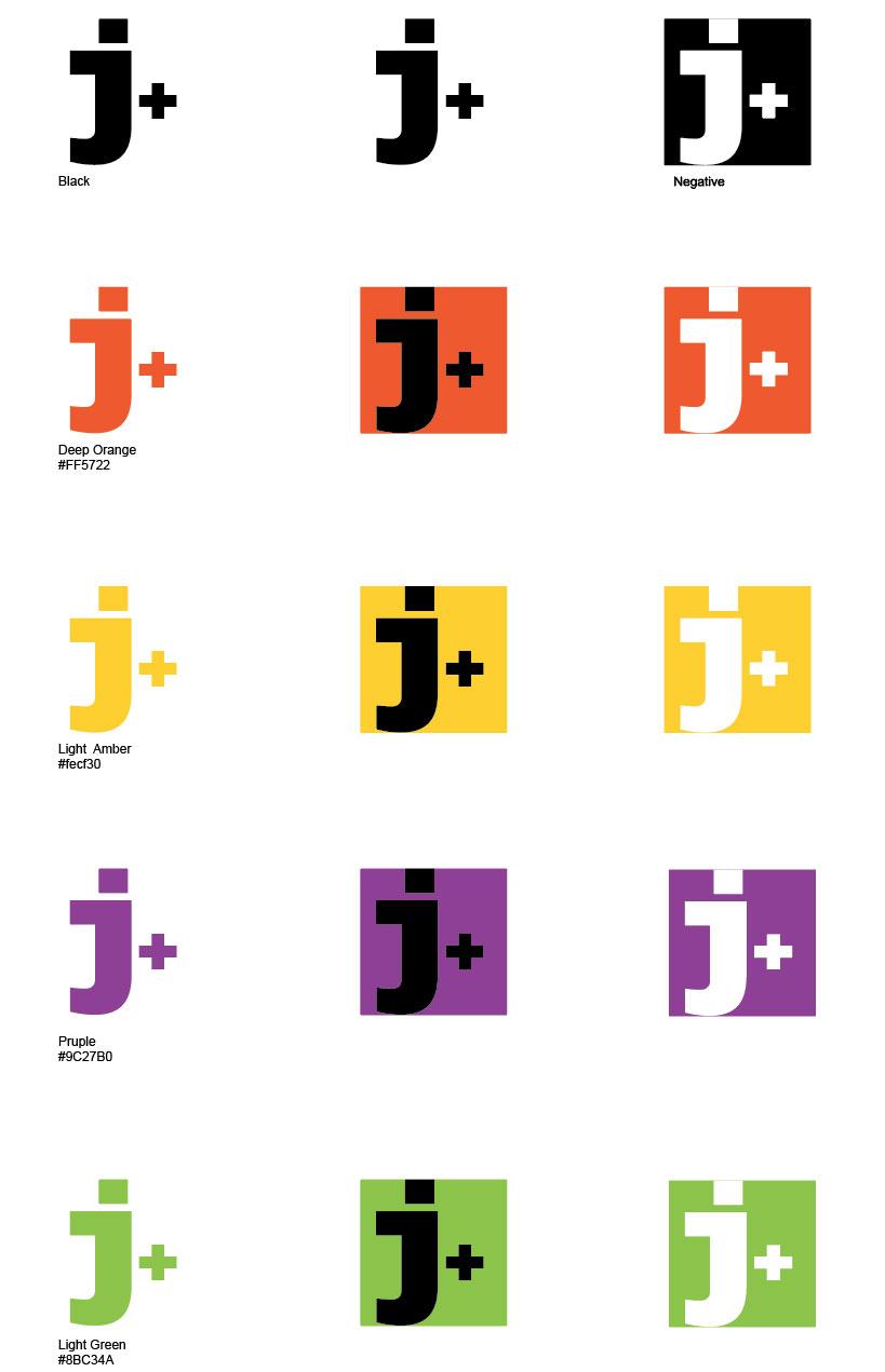 juantxocruz.com logo, versiones de color.