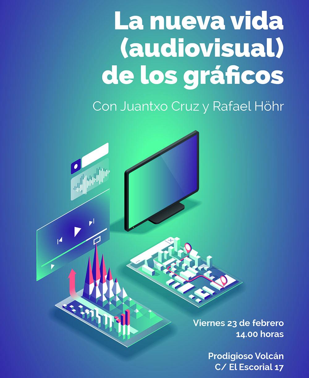 La nueva vida audiovisual de los gráficos