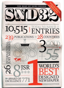 Portada de The Best Of New Design, SND 32